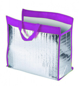 TOM cooler bag 12 litres polyester purple