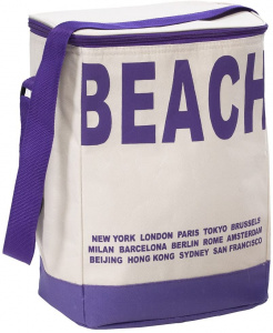 TOM cooler bag purple 35 cm