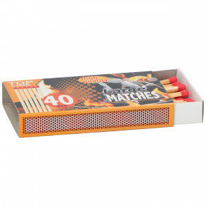Top Line matches 11 cm wood clear 40 pieces