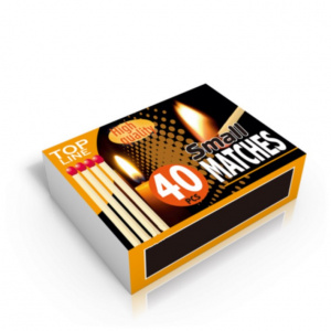 Top Line matches 5 cm wood clear 10 x 40 pieces