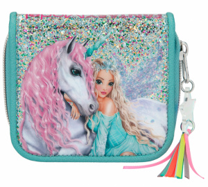 Top Model wallet Fantasy Model 11 cm mint green