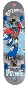 Transformers Optimus Prime skateboard grijs 79 x 20 cm