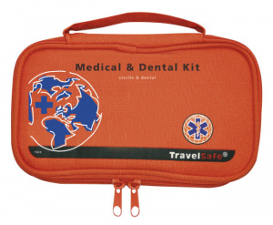 TravelSafe Ehbo-kit Medical & Dental polyester oranje 40-delig