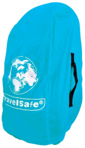 TravelSafe transport- en regenhoes backpack 55 liter polyester blauw