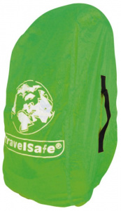 TravelSafe transport- en regenhoes backpack 55 liter polyester groen