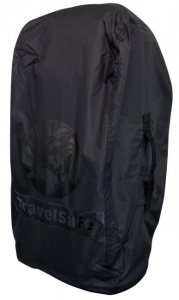 TravelSafe transport- en regenhoes backpack 55 liter polyester zwart