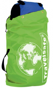 TravelSafe transporthoes backpack 85 liter polyester groen