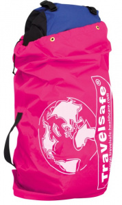 TravelSafe transporthoes backpack 85 liter polyester roze