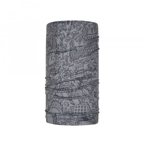 Tucano Urbano foulard Basset Air polyester gris taille unique