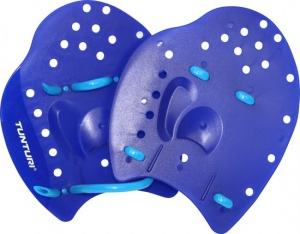 Tunturi handpaddles blauw medium
