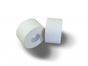 Tunturi sports tape white 2.5 cm x 13.7 cm 2 pieces