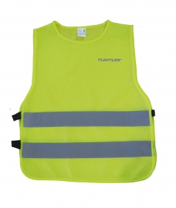 Tunturi safety vest yellow