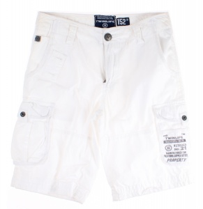 Twinlife short BBE211215 - No.21 junior katoen wit