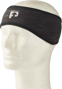 Ultimate Performance ear warmer reflective polyester black mt S/M