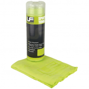 Urban Fitness sports towel 66 x 43 cm polyester green