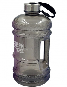 Urban Fitness waterfles 2,2 liter grijs