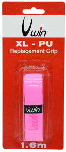 Uwin grip hockey/hurling 1,88 mm synthetisch roze