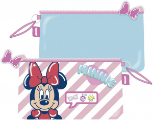 Arditex toilettenbeutel Minnie Mouse junior 24 x 14 cm rosa/blau