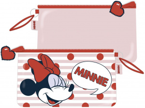 Arditex toiletry bag Minnie Mouse girls 24 x 14 cm red/white