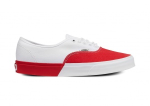 Vans sneakers Authentic DX Blocked dames wit/rood