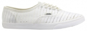 Vans sneakers Authentic Marshall meisjes/dames wit