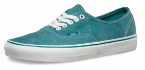 Vans Sneakers Authentic Washed Unisex Blauw