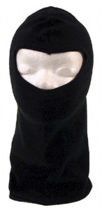 Ventura balaclava black cotton