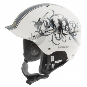 Ventura helmet Dancing junior white