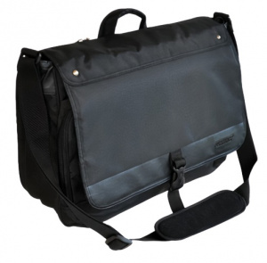 Verhaak laptoptas Down Under 45 x 40 cm polyester zwart