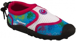Waimea Aquaschoenen Print Junior Aqua/Wit