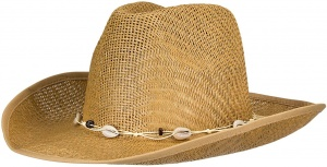 Waimea Texas straw hat ladies brown