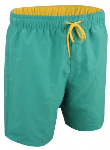 Waimea Swim Shorts Junior Green / Yellow