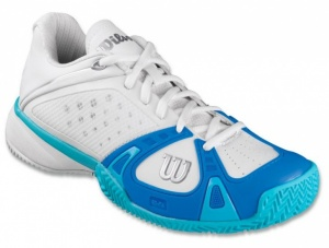 Wilson Rush Pro Clay Court Dames Tennisschoenen Wit