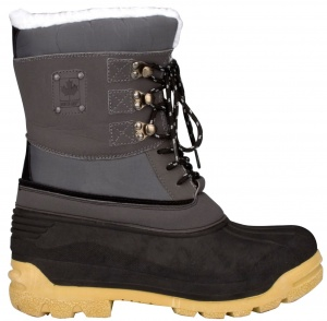 Winter-Grip snowboots Canadian dames grijs/zwart