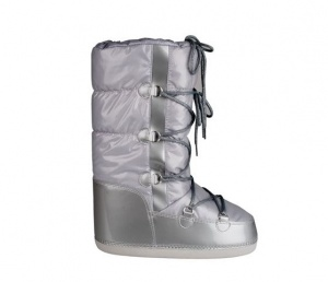 Winter-Grip Snowboots dames zilver