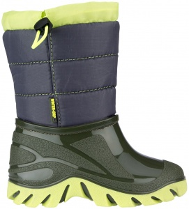 Winter-Grip snowboots Jelly Walker junior groen/blauw