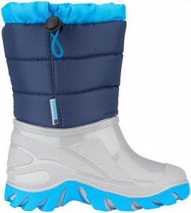 Winter-Grip snowboots Jelly Walker junior grijs/blauw