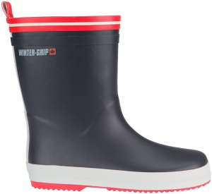Winter-Grip Snowboots Jr Welly antraciet/rood