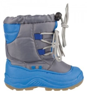 Winter-Grip snowboots junior blauw/grijs