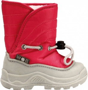 Winter-Grip Snowboots junior rood roze