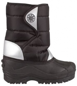 Winter-Grip Snowboots Junior Zilver / Zwart
