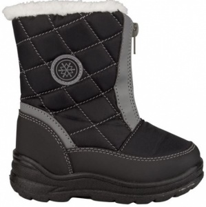 Winter-Grip snowboots junior zwart/grijs