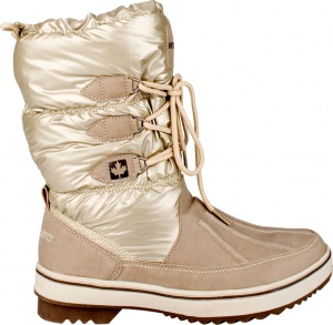 Winter-Grip Snowboots Lace Up Taupe Dames Maat 38-S