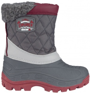 Winter-Grip snowboots Northern Peak junior antraciet