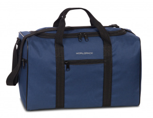 Worldpack travel bag 40 x 25 cm 20 litres polyester navy blue
