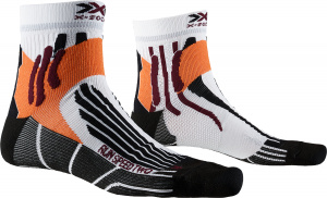 X-Socks chaussettes de course Run Speed Twodames noir/blanc