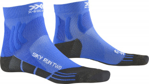 X-Socks laufsocken Sky Run TwoPolyamid blau