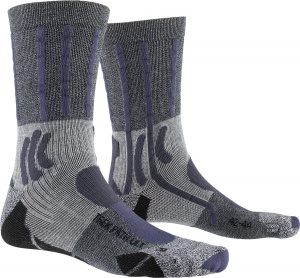 X-Socks wandersocken Trek Path Ultra Ltnylon grau