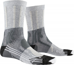 X-Socks wandersocken aus Trek Path UltraNylon grau