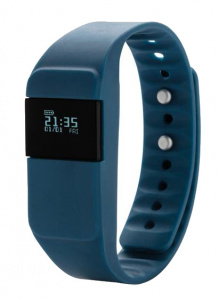 XD Collection activity-tracker Keep Fit 26 x 2 cm TPE blauw